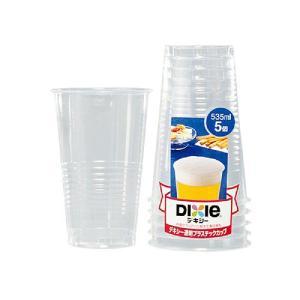 透明プラスチックカップ 使い捨て 18オンス KPC118DP 535ml 5個 propack-kappa1