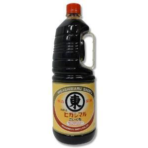 ヒガシマル 本醸造徳用こいくち醤油 1.8L