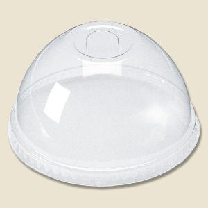 プラスチックコップ用 プロマックス L-83HU ドーム型蓋 U穴有り 100枚|propack-kappa1