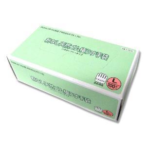 粉なし天然ゴムごく薄手袋 L