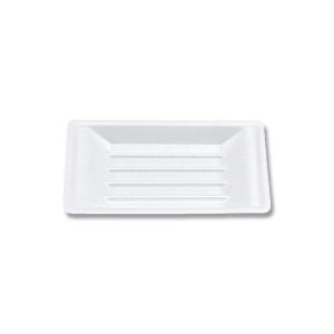 業務用 発泡性 食品トレー VK-23 使い捨て 無地 舟皿 中 100枚|propack-kappa1