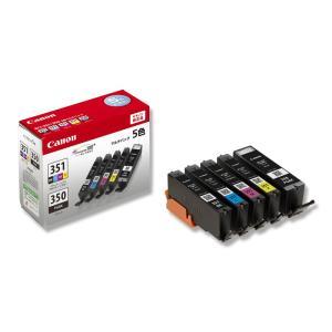 キヤノン OA用品 キヤノンインクカートリッジ マルチパック BCI-351+350/5MP 5色 ...