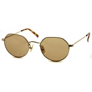 BOSTON CLUB ボストンクラブ HOLLY Sun 02 Gold - Brown Lenses ゴールド-ブラウンレンズ サングラス ボストン ラウンド クラウンパント|props-tokyo