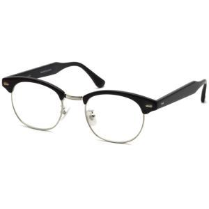 BOSTON CLUB ボストンクラブ LOUIS 01 black / silver ブラック / シルバー サーモントブローフレーム メガネ|props-tokyo