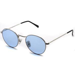 BOSTON CLUB ボストンクラブ WESTON Sun S01 Silver - Blue Lenses シルバー-ライトブルーレンズ サングラス ボストン ラウンド|props-tokyo
