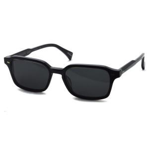 RAEN レイン レーン BOYD  Crystal Black - Dark Smoke ブラック-ダークスモークグレーレンズ スクエアサングラス|props-tokyo