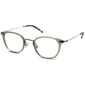 STEADY ステディ STD-50 カラー:5  ClearGrey - Shirring Silver  クリアグレー - シャーリングシルバー メガネフレーム【送料無料】|props-tokyo