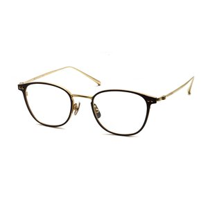 STEADY ステディ STD-78 カラー:4  Shirring Gold / Brown ゴールド / ブラウン ウェリントン チタンフレーム props-tokyo