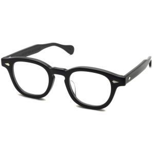 JULIUS TART OPTICAL タート メガネフレーム AR アーネル 44□22 BLACK ブラック【送料無料】|props-tokyo