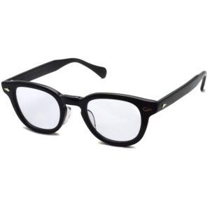 TART OPTICAL ARNEL タートオプティカル アーネル JD-04 46□24 001 BLACK ブラック メガネ フレーム【復刻 レプリカ 日本製】|props-tokyo