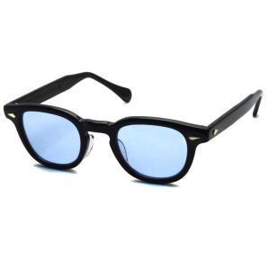 TART OPTICAL ARNEL タートオプティカル アーネル JD-04 48□24 BLACK-Light Blue ブラック-ライトブルー サングラス 復刻|props-tokyo
