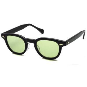 TART OPTICAL ARNEL タートオプティカル アーネル JD-04 46□24 BLACK-Light Green ブラック-ライトグリーン サングラス 復刻|props-tokyo