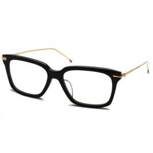 トムブラウン メガネ THOM BROWNE. TB-701 サイズ:49 Black-12K Gold ブラック・12Kゴールド 【送料無料】|props-tokyo