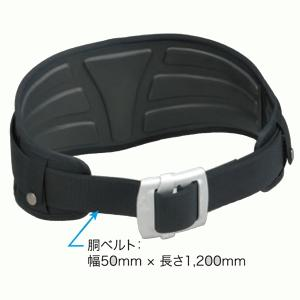 サンコー(株) タイタン 安全帯用 PROGUARD 3D ウエストサポーター+アルミバックル付きカーブベルトセット PF-PG型 |proshop-asahi