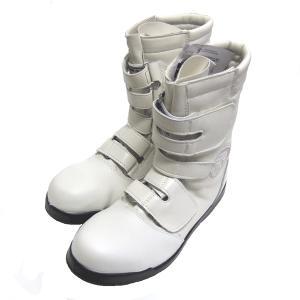 松元屋 ≪黒豹≫ 高所用安全靴 ZA-083 【ホワイト】|proshop-asahi