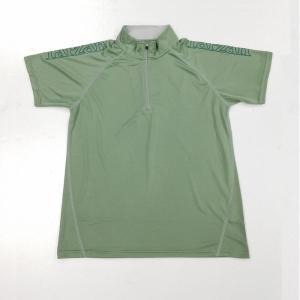 Tarzan ランニングウェア ハーフジップTシャツ TZ-54106-70|proshop-bd