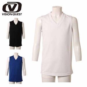 ビジョンクエスト サッカーインナーウェア(ジュニア) JRインナーシャツ ノースリーブ (VQ540416E02)2015SS