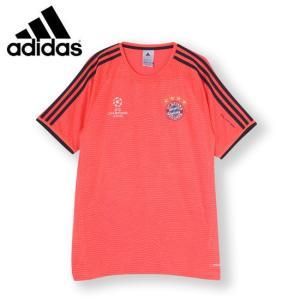 アディダス サッカー レプリカシャツ(メンズ) 2015-16 FCバイエルン UCL トレーニングシャツ (S27420)2015FW|proshop-bd