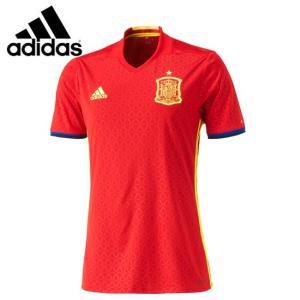 アディダス サッカー 2016 スペイン代表ユニフォーム(メンズ) ホーム レプリカユニフォーム半袖 (AI4411)2016SS|proshop-bd