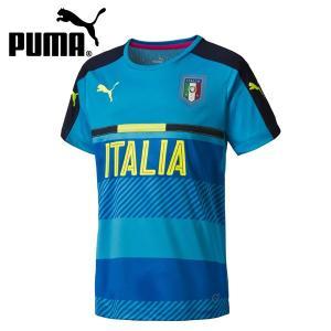 プーマ サッカー 2016 イタリア レプリカ(メンズ) FIGC ITALIA トレーニングジャージ (748851-07)2016SS|proshop-bd