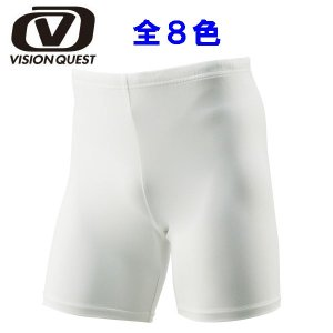 ビジョンクエスト サッカーインナーウェア(メンズ) パワータイツ ショート (VQ540406F05)|proshop-bd