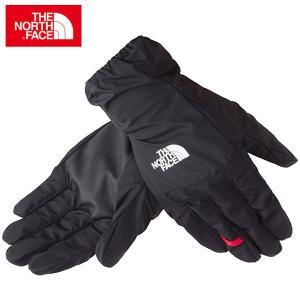 ノースフェイス トレッキング アクセサリー 手袋 シンプルレイングローブ (NN11601-K)|proshop-bd