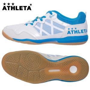 アスレタ(ATHLETA)オーヘイ・レーベル フットサルシューズ(メンズ)O-Rei Futsal T002 P.WHTxFSA(11005-1849)2017SS proshop-bd