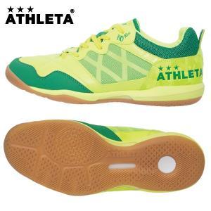 アスレタ(ATHLETA)オーヘイ・レーベル フットサルシューズ(メンズ)O-Rei Futsal T002 F.LIMxGRN(11005-3833)2017SS proshop-bd