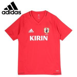 アディダス サッカー 2017 レプリカウェア(メンズ) サッカー日本代表 TIRO17 トレーニングジャージー 半袖 (BI3083)2017SS|proshop-bd