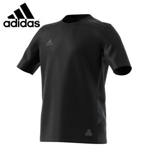 キッズ アディダス サッカー フットサル プラクティスシャツ KIDS RENGI トレーニングジャージー 半袖1 (BK3750)2017SS|proshop-bd