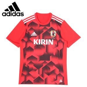 アディダス サッカー 2017 レプリカウェア(メンズ) サッカー日本代表 RENGI グラフィックトレーニングジャージー 半袖2 (BI2188)2017SS|proshop-bd