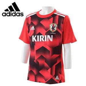 キッズ アディダス(adidas) サッカー レプリカウェア KIDS サッカー日本代表 RENGI グラフィックトレーニングジャージー 半袖2 (BI2184)|proshop-bd