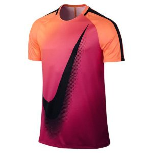 ナイキ(NIKE) サッカー フットサル 半袖プラクティスシャツ(メンズ) ドライ スクワッド トップ (845562-867)2017SS|proshop-bd