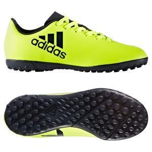 ■ジュニア■ アディダス(adidas) サッカー ターフ用 トレーニングシューズ エックス 17.4 TF J (S82421)2017FW