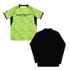 ペナルティ(PENALTY)サッカー 半袖シャツ(メンズ)プラトップ・インナーセット(PU7112-65)2017FW|proshop-bd
