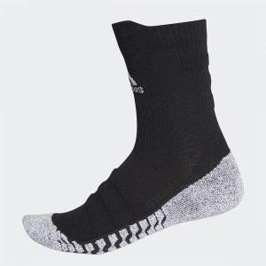 アディダス(adidas) サッカー 靴下 ストッキング(メンズ) ALPHASKIN グリップハーフクッション クルー ソックス (CV7576) 2018SS proshop-bd