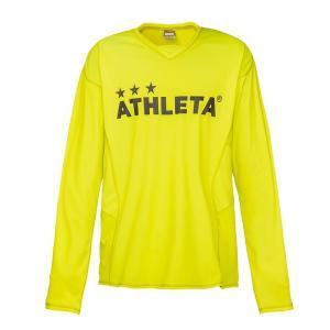 アスレタ(ATHLETA)サッカー 長袖Tシャツ(メンズ)プラクティスシャツ(02298-29)2018FW|proshop-bd