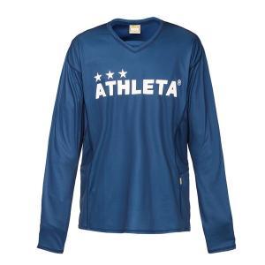 アスレタ(ATHLETA)サッカー 長袖Tシャツ(メンズ)プラクティスシャツ(02298-90)2018FW|proshop-bd
