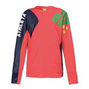 アスレタ(ATHLETA)サッカー 長袖Tシャツ(メンズ)カラープラクティスシャツ(02308-50)2018FW|proshop-bd
