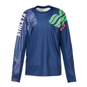 アスレタ(ATHLETA)サッカー 長袖Tシャツ(メンズ)カラープラクティスシャツ(02308-90)2018FW proshop-bd