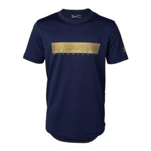 アンダーアーマー(UNDER ARMOUR)バスケットボール 半袖Tシャツ(ジュニア)テックショートスリーブ(1319674-410)2018FW|proshop-bd