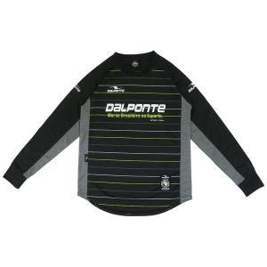 ダウポンチ(dalponte)サッカー 長袖Tシャツ(メンズ)長袖ストライププラクティスシャツ(DPZ0243-BLK)2018FW|proshop-bd