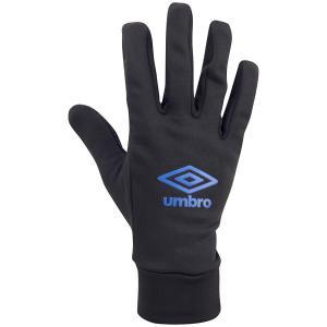 アンブロ(umbro)サッカー グラブ(手袋)フィールドプレイヤーグローブ(UUAMJD52-BKBL)2018FW 冬物小物|proshop-bd