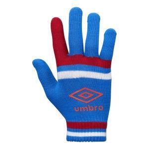 アンブロ(umbro)サッカー グラブ(ジュニア)マジックニットグローブ(UUDMJD54-BLRD)2018FW 冬物小物|proshop-bd