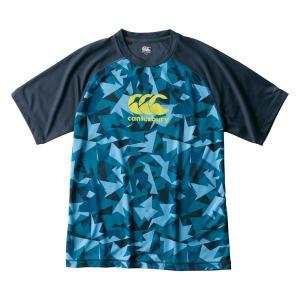 カンタベリー(canterbury)ラグビー 半袖Tシャツ(メンズ)トレーニングTEE(RG39008-29)2019SS|proshop-bd
