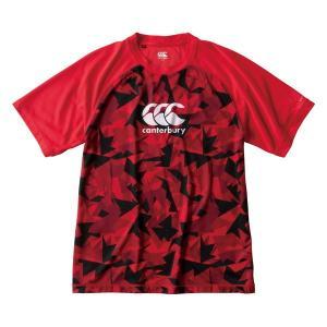 カンタベリー(canterbury)ラグビー 半袖Tシャツ(メンズ)トレーニングTEE(RG39008-65)2019SS|proshop-bd