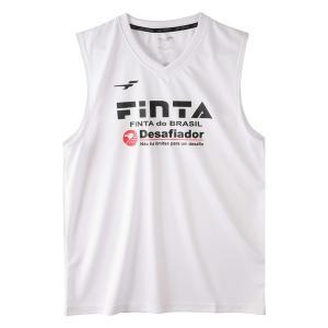 フィンタ(FINTA)サッカー プラクティスウェア(メンズ)ノースリーブシャツ(FT8110-0100)2019SS|proshop-bd