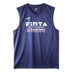 フィンタ(FINTA)サッカー プラクティスウェア(メンズ)ノースリーブシャツ(FT8110-1100)2019SS|proshop-bd