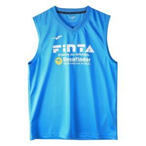 フィンタ(FINTA)サッカー プラクティスウェア(メンズ)ノースリーブシャツ(FT8110-2300)2019SS|proshop-bd