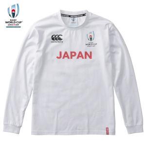 カンタベリー(canterbury)ラグビー 長袖Tシャツ(メンズ)RWC 2019 JAPANL / STEE(VWD49428-10)2019SS|proshop-bd